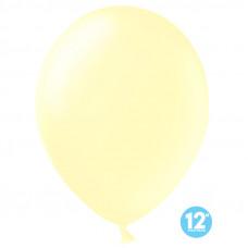Шар (12''/30 см) Макарунс, Неаполитанский желтый, пастель, 100 шт.
