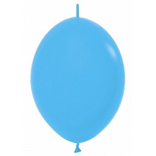 Линколун (6''/15 см) Голубой (040), пастель, 100 шт.