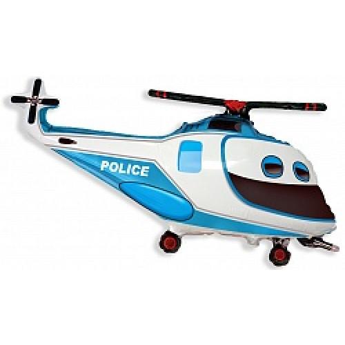 Шар (39''/99 см) Фигура, Полицейский вертолет