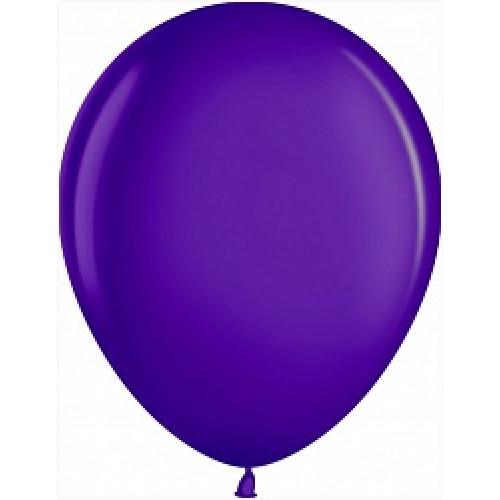 Шар (5''/13 см) Фиолетовый (863), металлик, 100 шт.