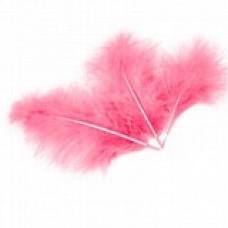Перья Розовые, 100 шт.
