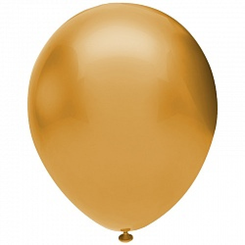 Шар (12''/30 см) Золото (922), металлик, 50 шт.