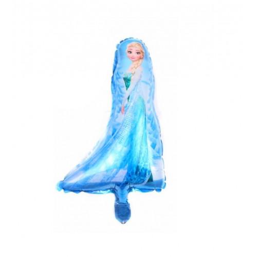 Шар (16\'\'/41 см) Мини-фигура, Холодное сердце, Эльза.