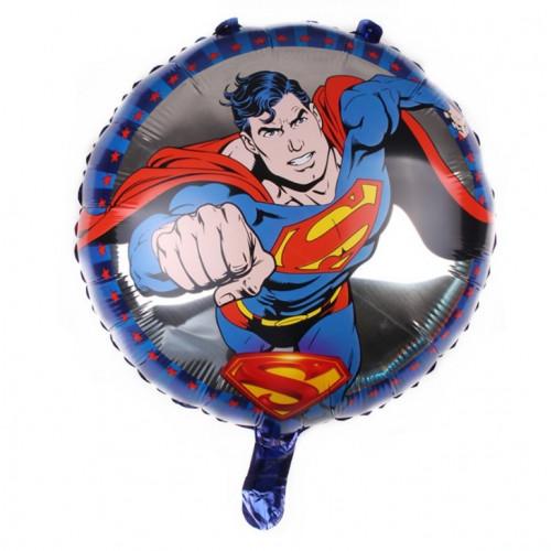 """Шар (18""""/46 см) Круг, Супер Мэн кулак."""