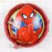 """Шар (18""""/46 см) Круг, Человек Паук крупный план, Красный."""