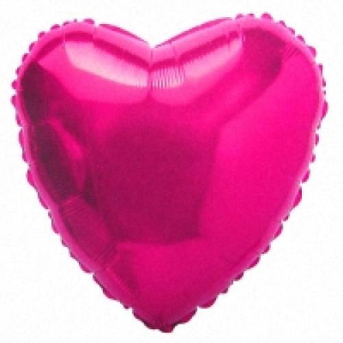 Шар (32''/81 см) Сердце, Сиреневый