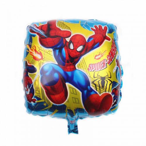 Шар (18''/46 см) Квадрат, Человек паук в прыжке, паук