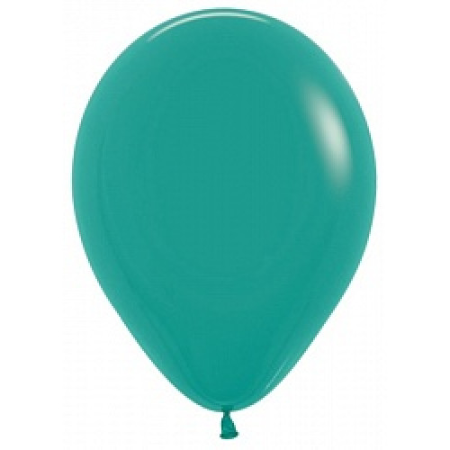 Шар (5''/13 см) Зеленая бирюза (036), пастель, 100 шт.