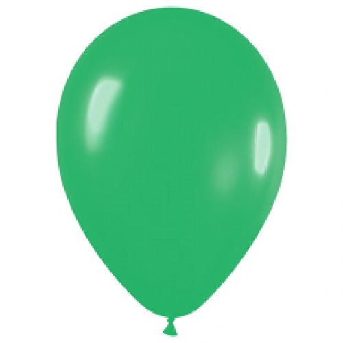 Шар (10''/25 см) Весенне-зеленый (028), пастель, 100 шт.