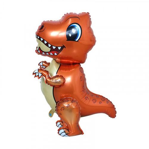 Шар (66/50 см) Ходячая Фигура, Динозаврик