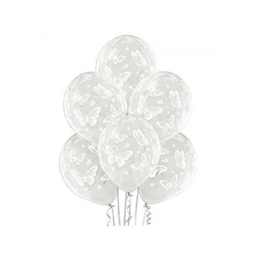 """Шелкография кристалл 14"""" Бабочки -038"""